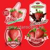 Étiquettes auto-adhésives personnalisées de fruit imperméable à l'eau