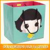 Customized adorável garota impresso pequenos sacos de papel (BLF-PB123)