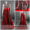 Vestido de partido da V-Garganta/vestido de casamento (V-004)