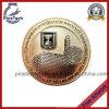 黄銅によって押される硬貨