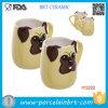 Tazza di ceramica della tazza originale all'ingrosso del cane