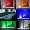 Этап беспроволочной батареи беспроволочный СИД /12ledsx18W Rgbaw+UV шайбы стены DMX СИД освещает Bars/Wedding СИД Uplights