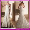 最新の卸し売り白い実物大の低速の背部花嫁衣装中国(W004)