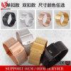 ODM milanés modificado para requisitos particulares marca de fábrica superior del OEM de la correa de reloj del estilo de Strapfashion del acoplamiento de la correa del acero inoxidable Vs-102