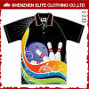 Impression promotionnelle Sublimation Print Sports Polo à manches courtes Polyester (ELTMPJ-306)