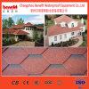 Mosaico de la línea de producción de tejas de asfalto
