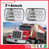 7x6 pouce 45W Sealed Beam LED rectangulaire. Chariot Jeep phares H4 connecteur