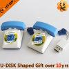 Привод вспышки USB телефона PVC изготовленный на заказ для подарков дела (YT-TL)