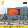 P12.5 publicidade exterior na construção de parede LED de vídeo
