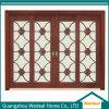 Puertas de vidrio de madera exterior para proyectos de casas