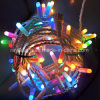 La chaîne de caractères changeable automatique de la couleur RVB allume la lumière de chaîne de caractères de Noël de DEL