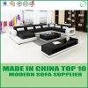 Hauptform-Leder-Ecken-Sofa der möbel-U