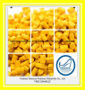 Masterbatch de material plástico amarillo