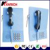 2017 Knzd-23 Montagem na parede / suporte do piso Banco através do telefone Telefone profissional Sistema de proteção de segurança Equipamento