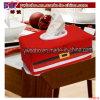 Approvisionnement de papier d'usager de cadre de tissu de Santa de décoration de fête de Noël (CH8114)