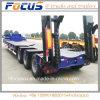 El mejor precio Lowbed / semi remolque cama baja impulsado por el camión tractor