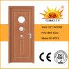 Porta laminada MDF interior do PVC