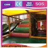 Campo de jogos interno barato usado do jogo casa plástica interna