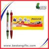 Regalos promocionales multicolor barato indicador de la bandera de la pluma, Advertisting Banner Pen