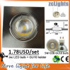 COB LED Down Light con 5W GU10 Spotlight