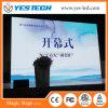 P3/P4 RGB LED farbenreicher videostadiums-Hintergrund-Vorhang