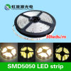 alta SMD5050 LED CC flessibile luminosa 12V/24V dell'indicatore luminoso di striscia di 20-22lm/LEDs 30LEDs/M