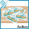 Waterproof bianco Custom Logo Stickers per Advertizing