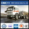 Ng80b de Vrachtwagen van de Tractor 380HP Beiben van de Cabine 6*4 340HP