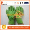 Зеленый латекс детский сад рукавицы защитные перчатки Dcl524