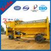 Planta de lavado de oro Río Oro móvil Lavadora Trommel Separador de pantalla