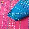 Текстильная Флюоресцеиновая окрашенная пряжа жаккардовые ткани в полоску из хлопка (GLLML147)