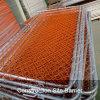 Pannello arancione del recinto di collegamento Chain della costruzione