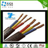 Flaches Jacketed Submersible Pump Cables mit Ground
