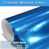 Cromo Espejo Blue Car Body Design Vinilo Cromo