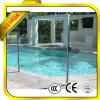 Clôture claire de la piscine en verre tempéré Fenêtre