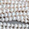 9-10mm cortos de patata cultiva filamentos de perlas naturales (E180013)