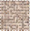 Marmo Decorazione della parete di mosaico di pietra (S755014)
