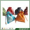 Bolso de empaquetado del regalo de la joyería del satén del lazo clásico