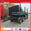 4 lading-Vervoert assen 7.5m trekken Flatbed Aanhangwagen van de Staaf