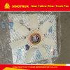 Ventilator van de Motor van Yuchai van de Delen van de Vrachtwagen van de Plicht van de Rivier van Sinotruk de Nieuwe Gele Middelgrote