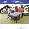 大きい円形の贅沢な屋外のテラスの柳細工の家具、セットされる庭の藤のラウンジ(J3595)
