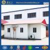 Casa prefabricada de la estructura de acero para modificado para requisitos particulares (ss-16128)