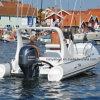 Hypalon Liya 17FT costela barco inflável com motor para venda