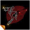 接吻Sport Hotfix Glass Rhinestone Motif Design (kk)