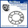 4 o 5 Lug Coche de aluminio del espaciador de la rueda