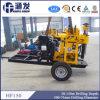 2 roues, trou au sol ! Équipement de foret hydraulique de puits d'eau de la remorque Hf150