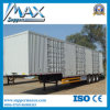 Preiswertes 6X4 Enclosed Cargo Box Van Trailer Semi Trailer