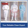 La DÉCHARGE ÉLECTROSTATIQUE antistatique personnalisée de vêtement de combinaison de polyester sans charpie de DÉCHARGE ÉLECTROSTATIQUE adapte à des gaines