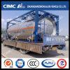 Cimc Huajun 20cbm Vloeibare Tank voor Vloeibare Chloor