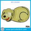 Ciotola di ceramica dell'animale domestico di vendita di disegno caldo del cane